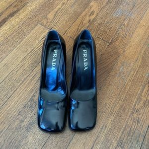 Prada Patent Leather Shoes size 7.5